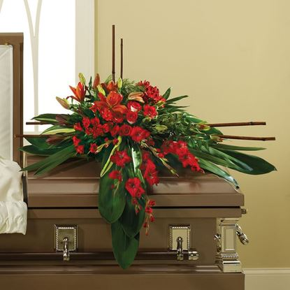 """Picture of F-002 """"Casket spray """""""