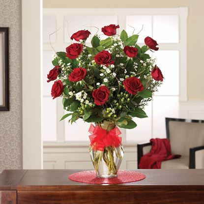 "Picture of R-002 ""Perfect red roses """
