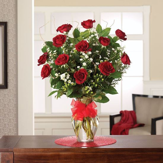 """Picture of R-002 """"Perfect red roses """""""